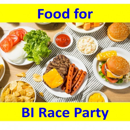 Food at BI Race Party